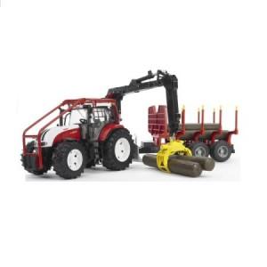 Bruder traktor lesny